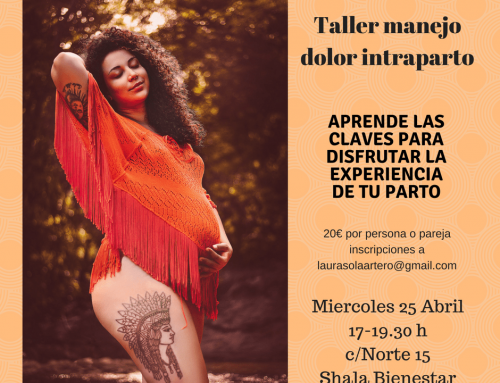 taller de manejo dolor intraparto 25 Abril