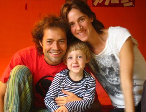 Sara, Luis y Rita